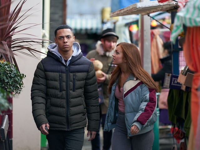 Keegan and Tiff argue on EastEnders on June 2, 2020