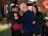 Max confronts Vinny on EastEnders on June 2, 2020