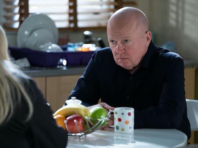 Phil has a tense conversation with Sharon on EastEnders on June 8, 2020