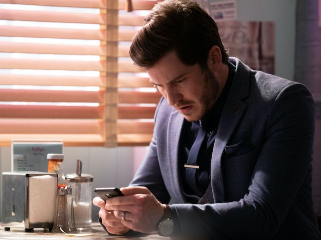 Gray makes a discovery on EastEnders on June 9, 2020