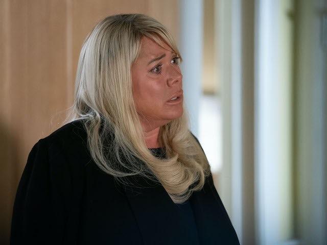 Sharon on EastEnders on June 9, 2020