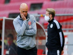 Fortuna Dusseldorf manager Uwe Rosler pictured in May 2020
