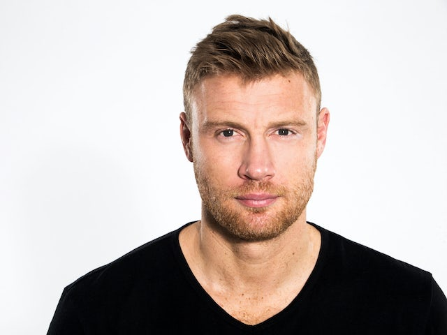 Freddie Flintoff in a promo shot for his 5 Live show