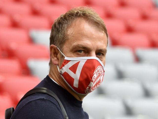 Bayern boss Hansi Flick on May 30, 2020