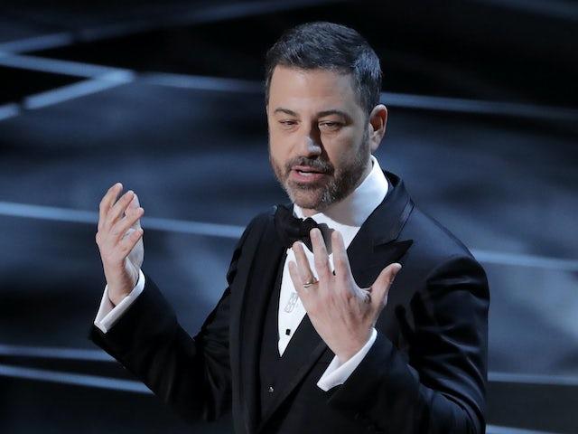 Watch: Emotional Jimmy Kimmel slams