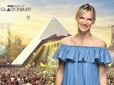 Jo Whiley in a promo for the BBC's Glastonbury 2019 coverage