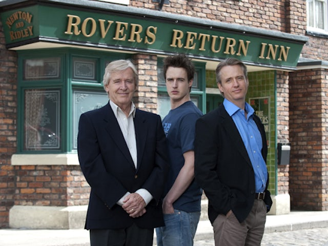 Lawrence and James Cunningham on Coronation Street