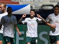 Werder Bremen's Leonardo Bittencourt pictured on May 30, 2020