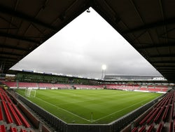 A general shot of MCH Arena, the home of FC Midtjylland, in September 2015
