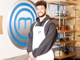 Myles Stephenson appearing on Celebrity MasterChef 2020