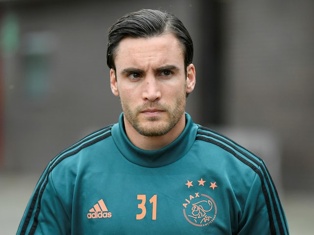 Ajax full-back Nicolas Tagliafico pictured in October 2019