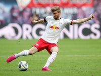 RB Leipzig striker Timo Werner pictured on May 27, 2020