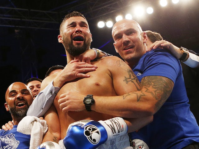 On this day: Tony Bellew wins WBC world cruiserweight title
