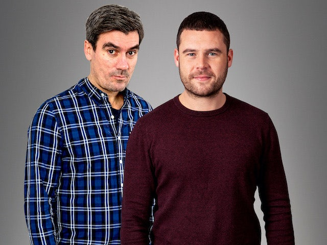 Cain and Aaron Dingle in the second of Emmerdale's lockdown episodes on June 10, 2020