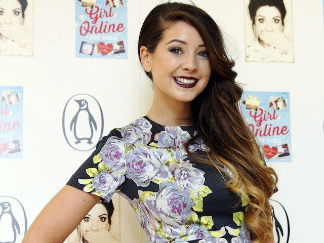 Zoe Sugg aka Zoella pictured in 2014