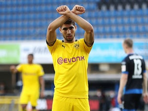 Chelsea, Man City make Achraf Hakimi enquiry?
