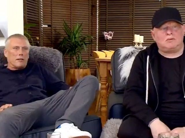 Bez and Shaun Ryder on Celebrity Gogglebox