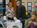 Geoff confronts Sally on Coronation Street on June 15, 2020