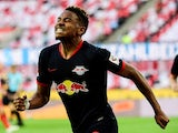 RB Leipzig's Christopher Nkunku pictured on June 1, 2020