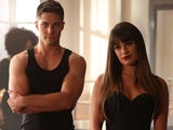 Dean Geyer and Lea Michele on Glee