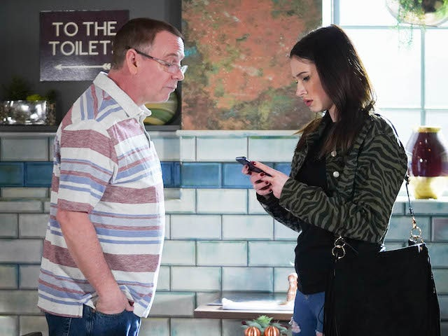 Dotty confronts Ian on EastEnders on June 16, 2020