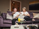 Eamonn Holmes and Ruth Langsford on Celebrity Gogglebox