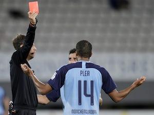 Man Utd target Alassane Plea sent off as Gladbach lose to Freiburg