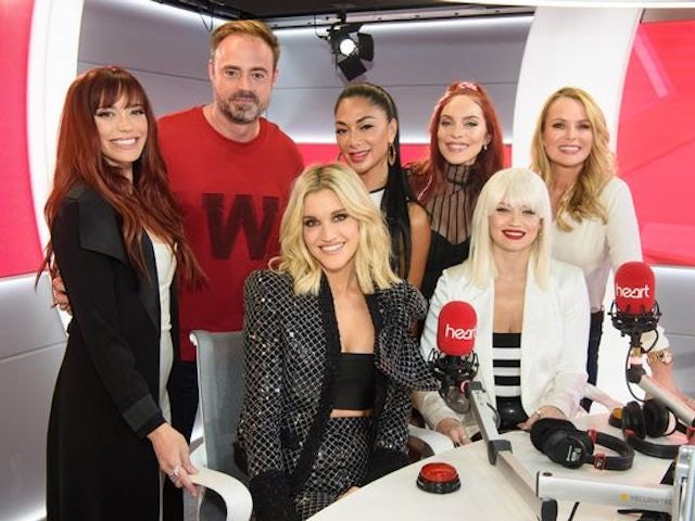 Jamie Theakston and the Pussycat Dolls on Heart Breakfast