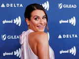 Lea Michele strikes a pose on March 29, 2019