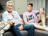 Martin Kemp and Roman Kemp on Celebrity Gogglebox