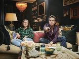 Nick Grimshaw and Liv Grimshaw on Celebrity Gogglebox