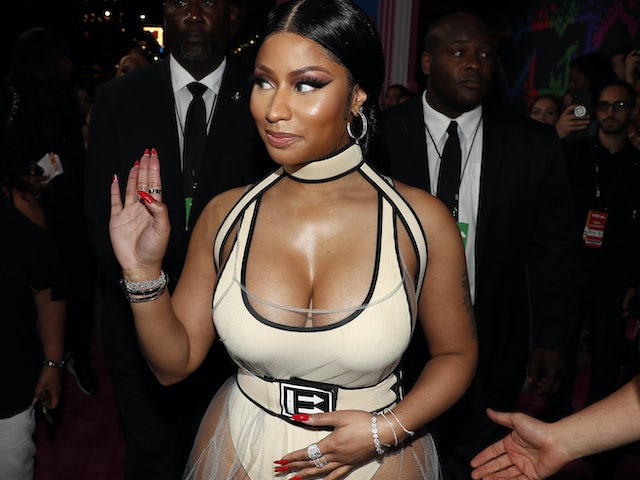 Nicki Minaj makes an understated arrival at the MTV VMAs in August 2018