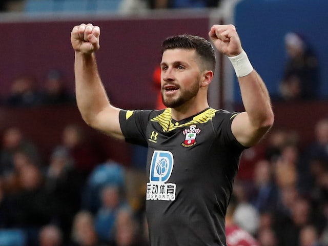 Southampton forward Shane Long pictured in December 2019