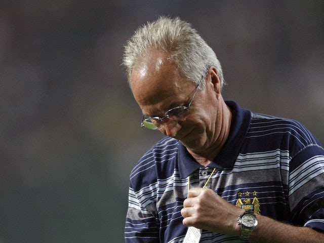 On this day: Sven-Goran Eriksson steps down as Man City manager