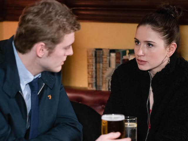 Peter talks to Dotty about what happened between them on EastEnders on June 15, 2020
