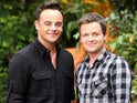 Ant and Dec in their I'm A Celebrity pomp