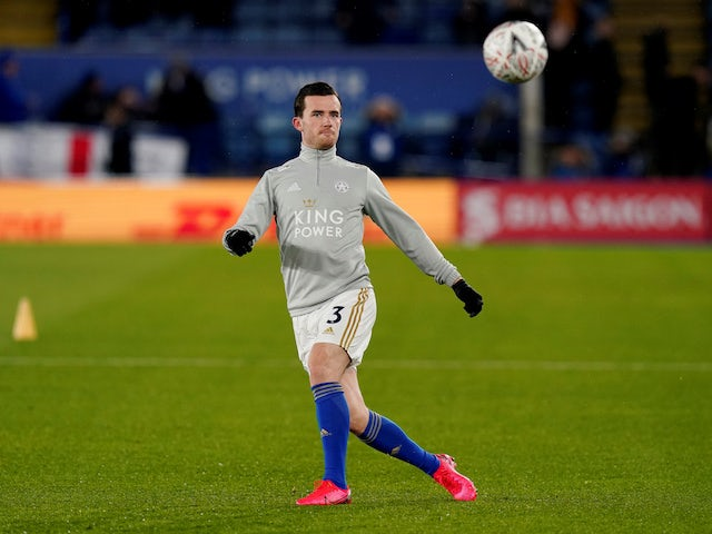Leicester defender Ben Chilwell pictured in March 2020