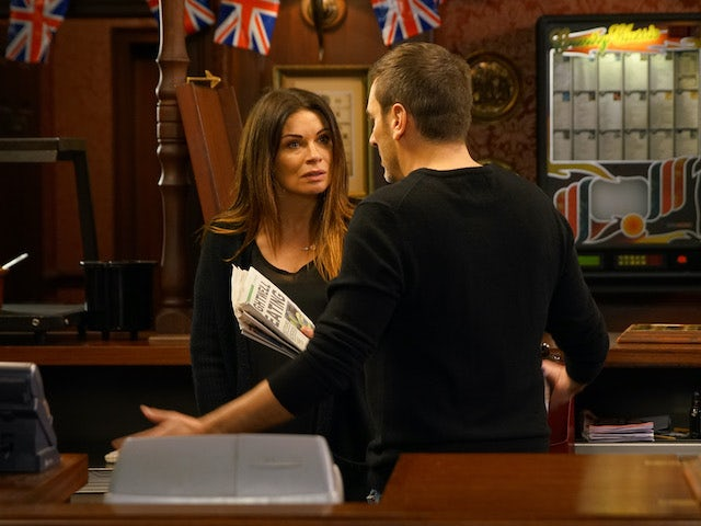 Carla confronts Peter on Coronation Street on June 24, 2020
