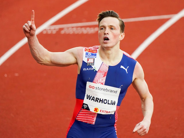 Karsten Warholm dream comes true as he grabs gold and 400m hurdles world record