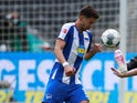 Marko Grujic pictured for Hertha Berlin in May 2020