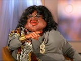 Leigh Francis portraying Oprah Winfrey in Bo in the USA