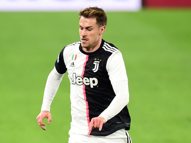 Juventus midfielder Aaron Ramsey pictured in February 2020