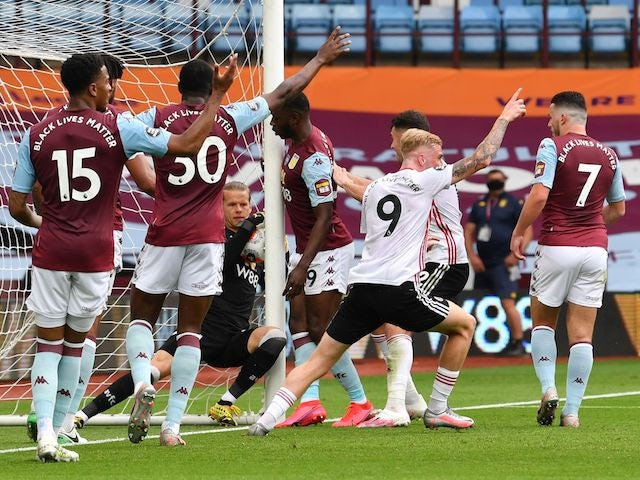 Chris Wilder still angered by explanation of goalline technology failure at Villa