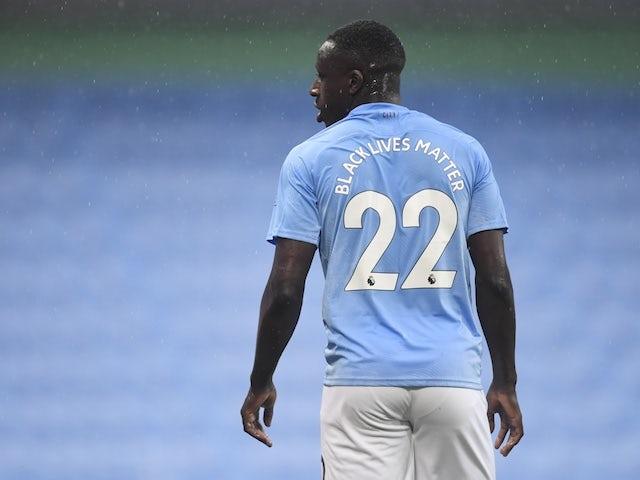 Manchester City defender Benjamin Mendy pictured on June 17, 2020