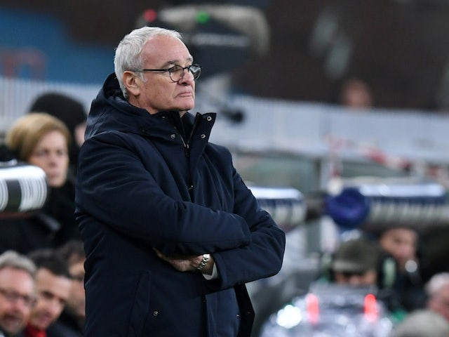 Sampdoria manager Claudio Ranieri pictured in December 2019