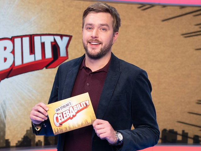 Iain Stirling for his Celebability programme