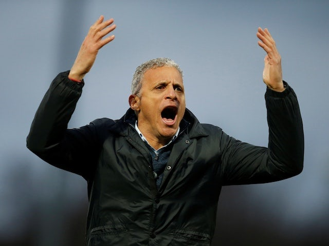 Northampton Town manager Keith Curle pictured in January 2020