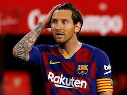 Barcelona captain Lionel Messi pictured on June 19, 2020