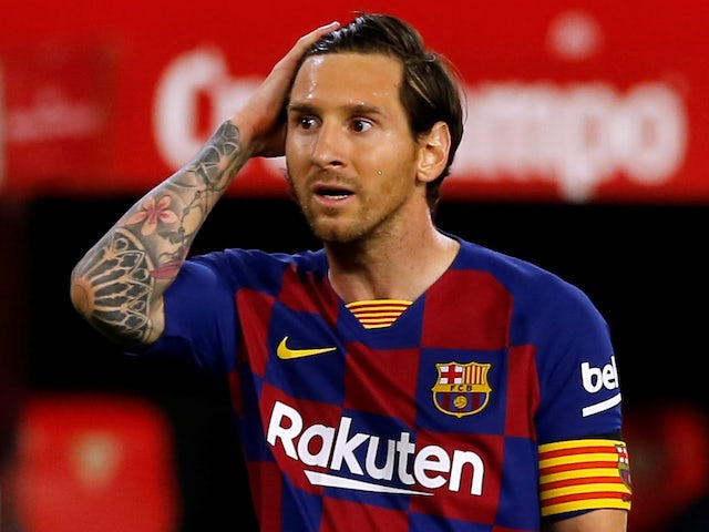 Man City 'would consider Messi if Guardiola leaves'