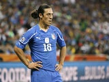 Mauro Camoranesi pictured for Italy at the 2010 World Cup